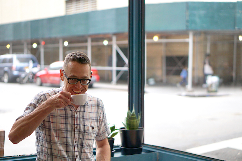 Ed Kaufmann Joe Coffee New York Portraet
