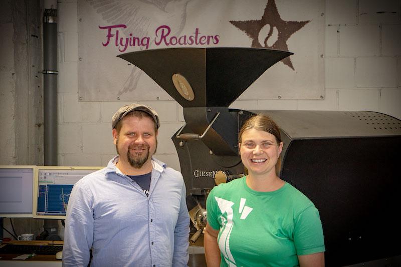 Kaffeerösterei Flying Roasters Berlin Porträt reportage