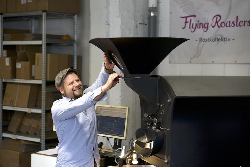 Kaffeerösterei Flying Roasters Berlin Porträt