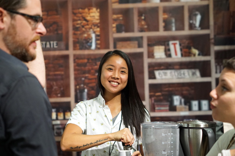 New York Coffee Festival reportage autor kaffee trinken