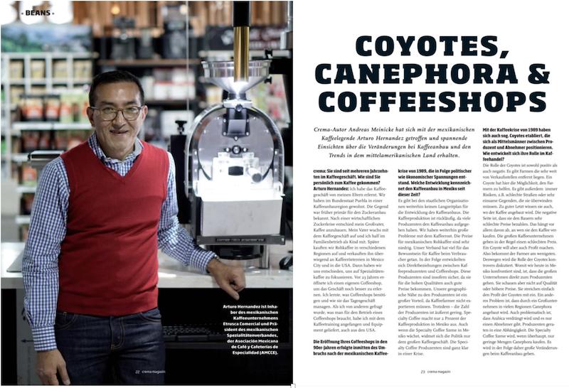 Interview Arturo Hernandez Kaffee Marketing